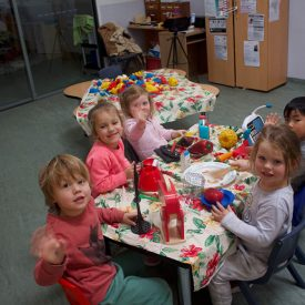 Children playing in Child Care Dee Why