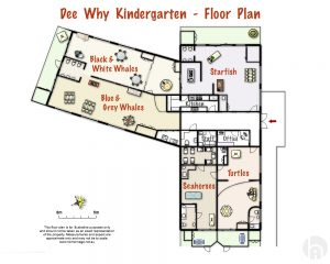 Dee Why Kindergarten Map